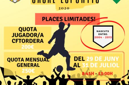 ARRIBA EL CASAL ESPORTIU DEL CLUB FUTBOL TORDERA