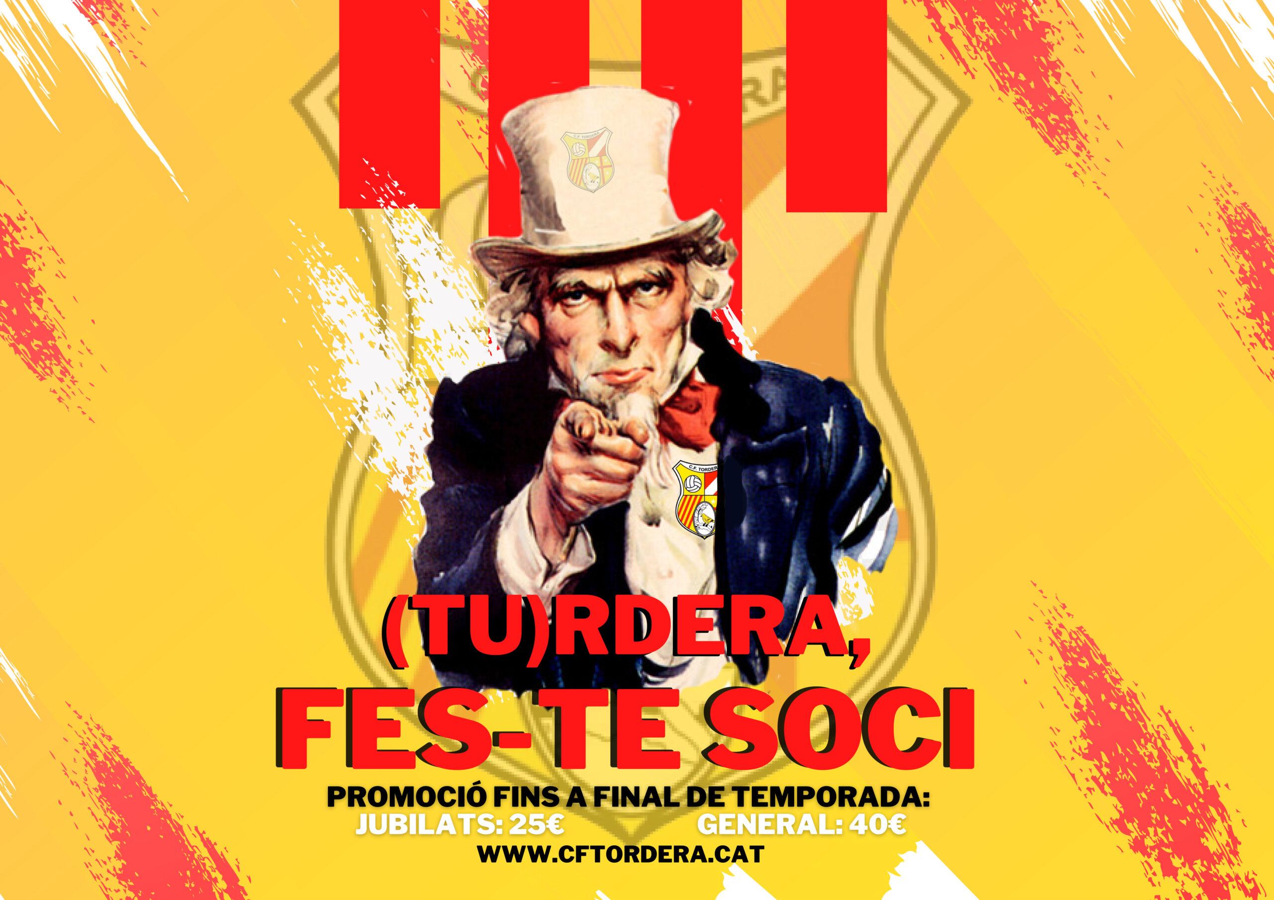 (TU)RDERA: FES-TE SOCI!