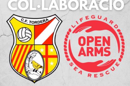 El Club Futbol Tordera i Proactiva Open Arms entren en col·laboració